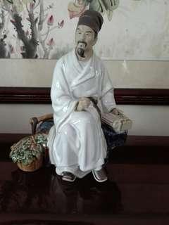 Porcelain王羲之 25cm
