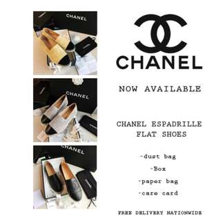 Chanel Espadrilles 1 Flat Shoes