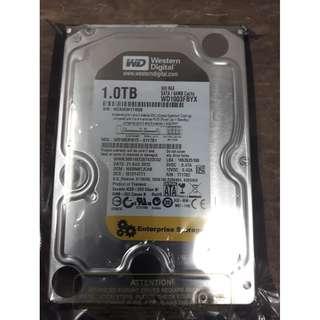 "WD 3.5"" 1TB Hard Disk"