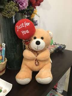 Just for you balloon bear