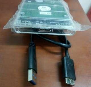 Samsung portable 160gb sata usb