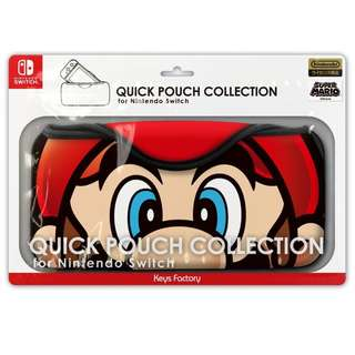 QUICK POUCH COLLECTION for Nintendo Switch (super mario) Mario (Pre-Order)