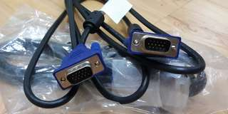 VGA CABLE - 1.8M (NEW)