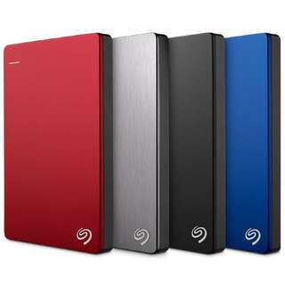Seagate 1TB External Hard Disk Back up Slim Plus