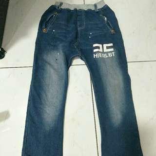 大童牛仔褲15號