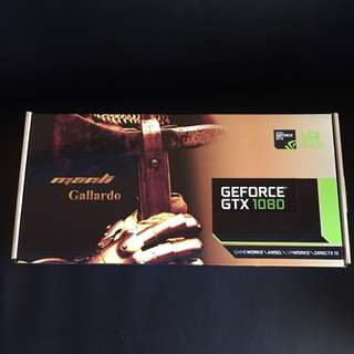 Brand New Manli NVIDIA GeForce GTX 1080 Gallardo 8GB VR Ready Gaming Card
