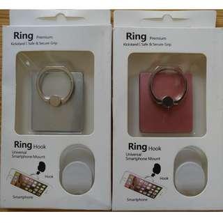 手機指環 固定環 電話托 手機架 Ring Hook & Smartphone Mount