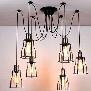 6 HEAD WEB LAMPS