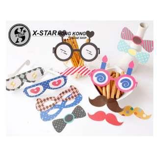 s138381 搞怪眼鏡套裝拍照道具 生日 結婚派對裝扮 PARTY 用品