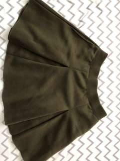 UNIQLO Army Green Skirt