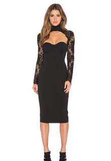 Misha Collection Lace Dress