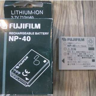 FUJIFILM NP-40 Rechargable Battery Brand New