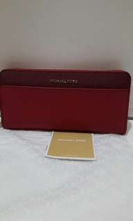 NWT Michael Kors Jet Set ColorBlock Continental Wallet