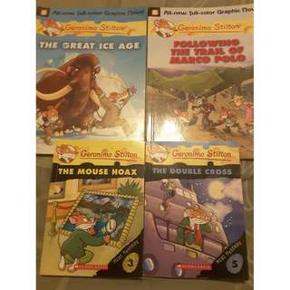 Geronimo Story Books