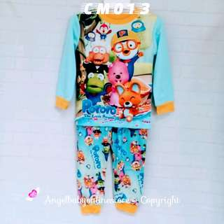 (Nett Price) Pororo & Friends Blue Sleepwear CM013