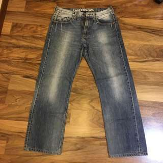 Authentic Used Levi's 604 Stone Wash Denim Jeans