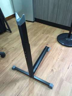Bicycle vertical stand