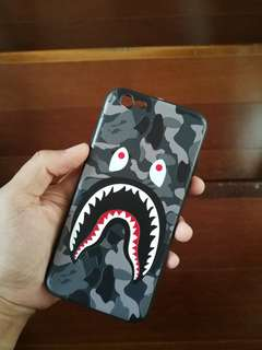 Case iPhone 6/6s Bape Shark 3D 99% OK