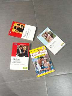 Mills and Boon romance books