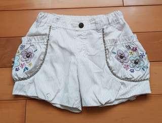 🚚 Anna Sui Mini日本獨家販售女童裝 (復古花苞短褲)