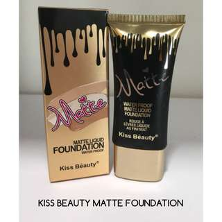 KISS BEAUTY MATTE FOUNDATION