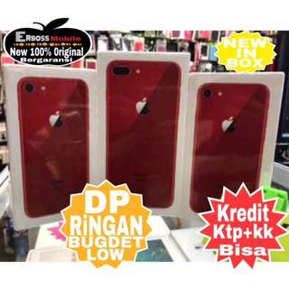 Cash/Kredit Apple iPhone 8 - 64GB New-Red Edition Ditoko Dp Call/Wa;081905288895
