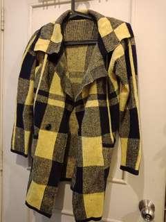 Checkered Winter Coat