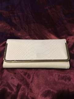 Cream Wallet Purse
