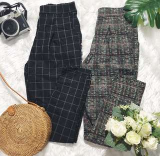 Vintage/Gingham trousers