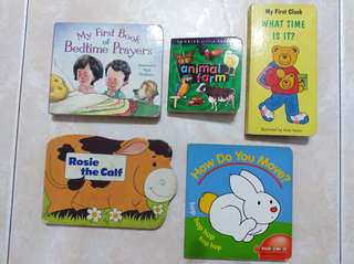 Baby/toddler books