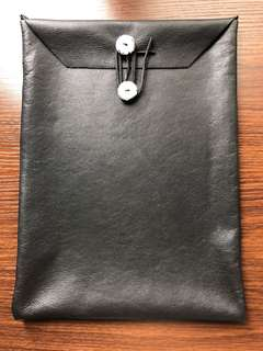 I pad / surface pro genuine leather case