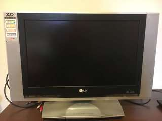 "LG TV 27"" DVD player built in (x2)"