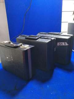 Black Small Briefcase /Box/Tools Box for sale @$15-20 Each @A8/1