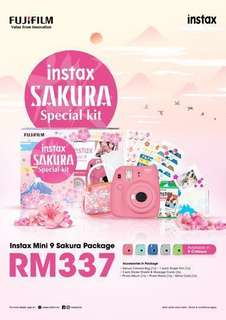 Instax Mini 9 Sakura Package ( RM269 )