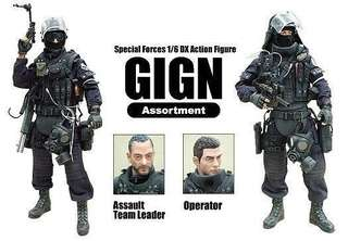1/6 HOT TOYS GIGN OPERATORS
