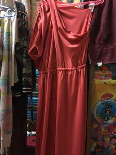 Long (Pink) Dress / Maternity Dress