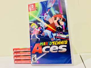 Nintendo Switch- Mario Tennis