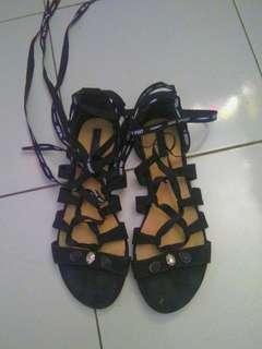 Flat sandal gladiator