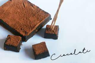 Dark chocolate truffle fudge