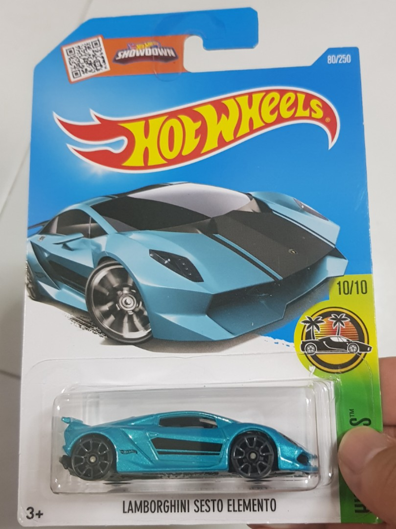 1 64 Hotwheels Lamborghini Sesto Elemento Toys Games Others On