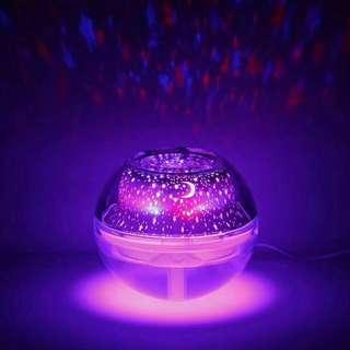 水晶投影噴霧機