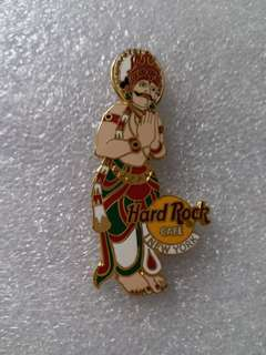 Hard Rock Cafe Pins ~ NEW YORK HOT AND RARE 2002 WALL OF GODS (PRAYING HINDU GOD) SERIES PIN !