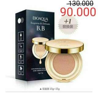 Bioaqua BB cushion gold + Refill