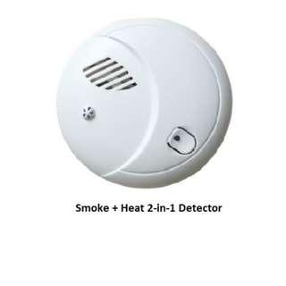 Fire Alarm cum Smoke Detector