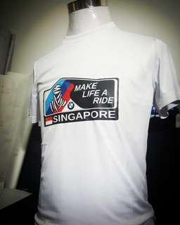 Special edition Make Life A Ride BMW print tshirt