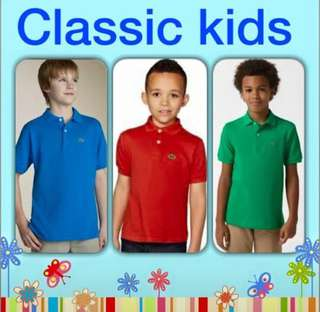 lacoste orig for kids