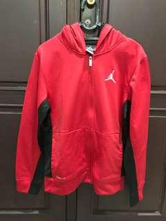 air jordan hoodie red