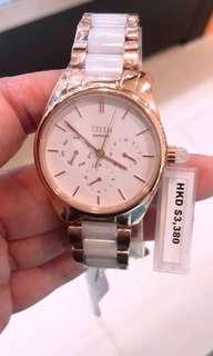 原廠正貨全新100%real,new💕鐵達時女裝陶瓷錶👍🏻