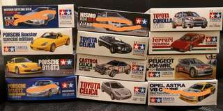 Tamiya 1/24 Scale sports car Series