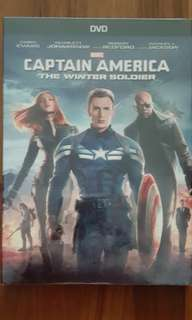 Captain America : Winter Soldier DVD